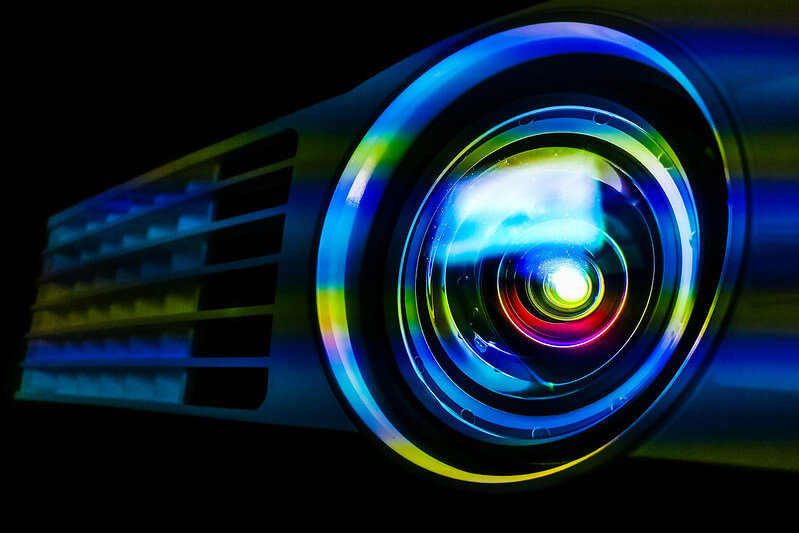 Safety Precautions for Your Eyes When You Are Looking at Projectors