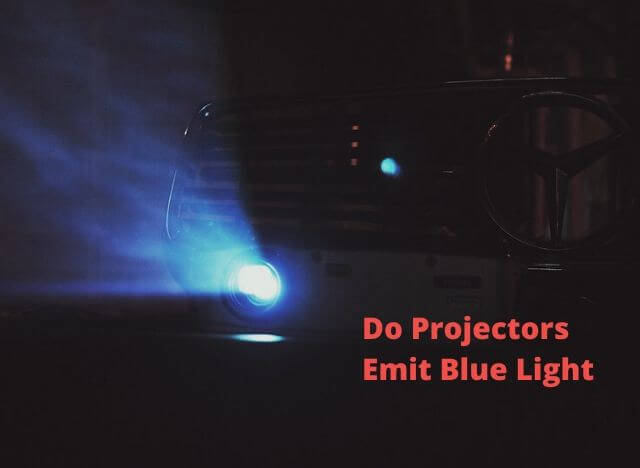 Do Projectors Emit Blue Light