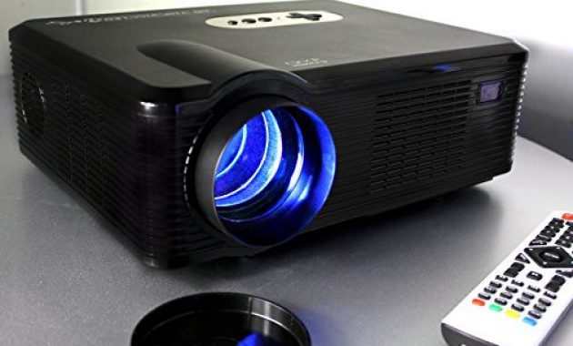 LED LCD Video Projector