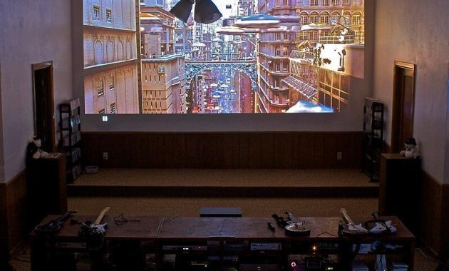 can you watch tv on a projector