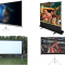 01 Different types of projector Screens 04 Portable Projector Screens