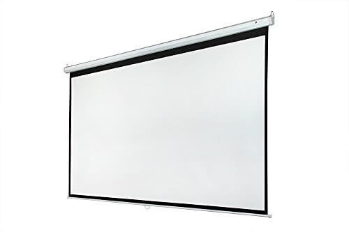 01 Different types of projector Screens 07 Manual Projector Screens