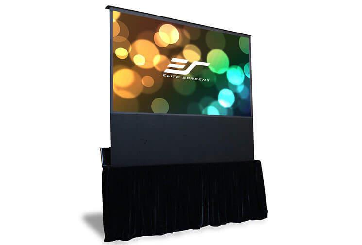 01 Different types of projector Screens 11 Floor Projector Screens