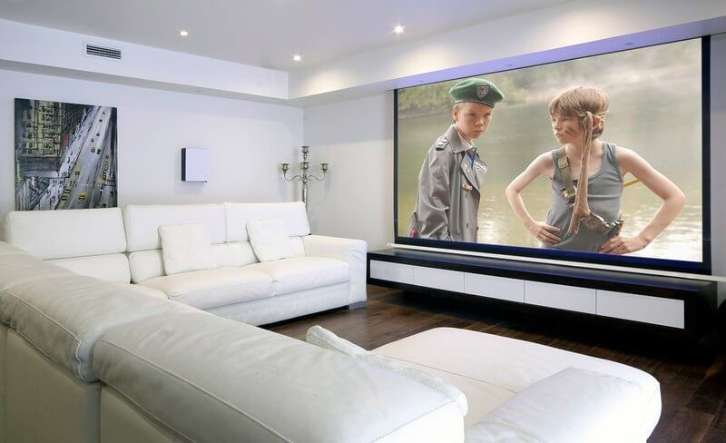 01 Different types of projector Screens 16 Wall Projector Screens