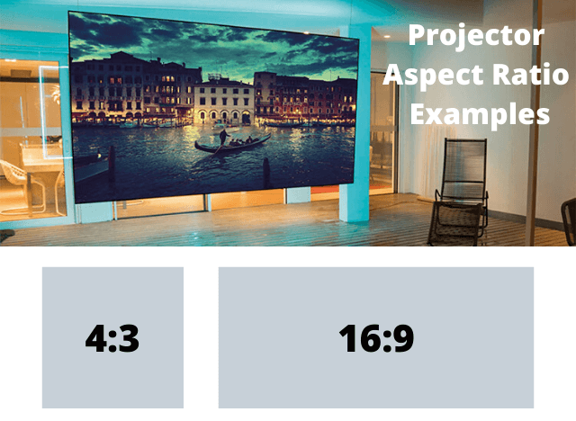 03 Projector Aspect Ratio Examples