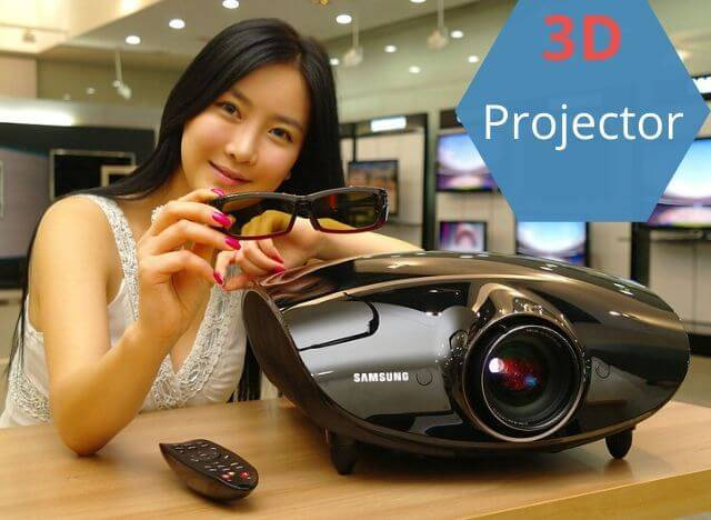3d projector feature