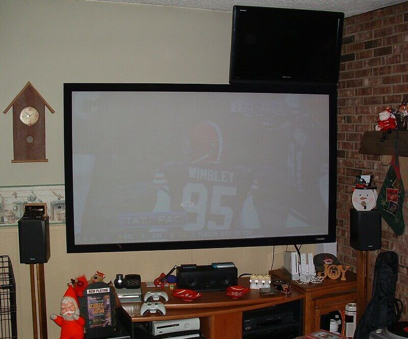 Grey Projector Screens