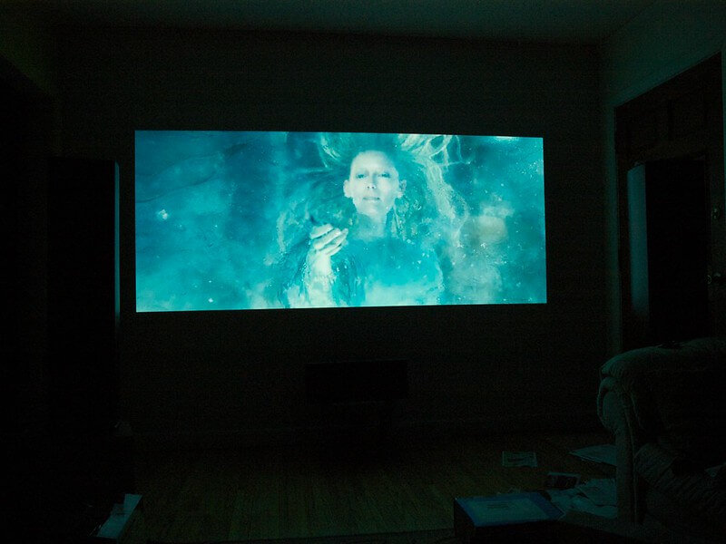 Silver Projector Screens