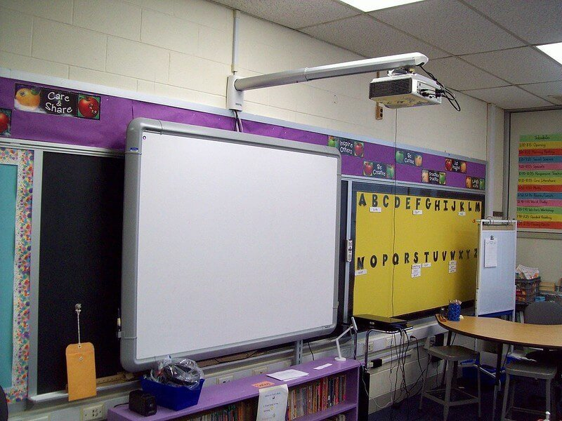 White Projector Screens