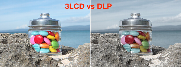 DLP vs 3LCD image