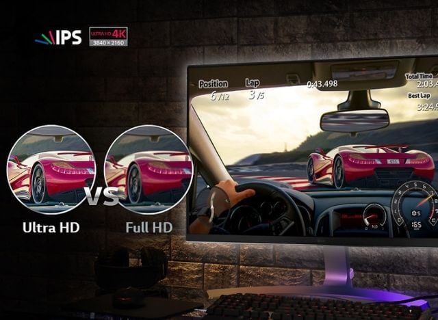 Full HD vs Ultra HD feature