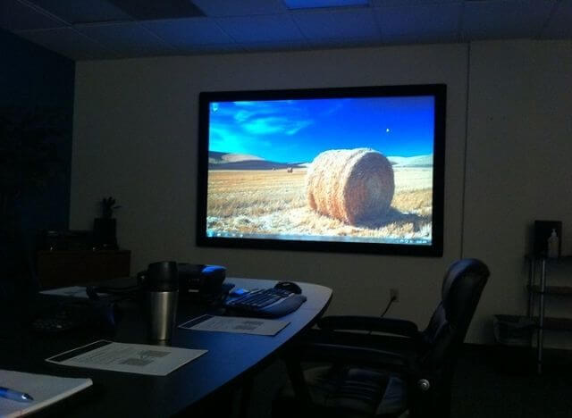 How to Freeze Projector Screen