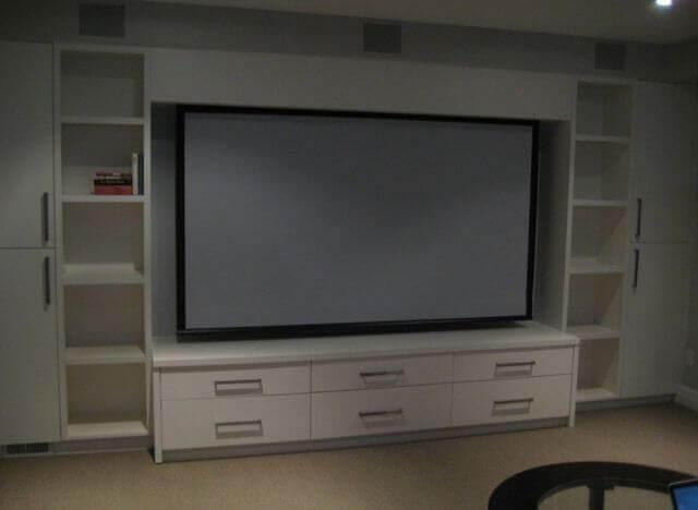 Silver Projector Screen
