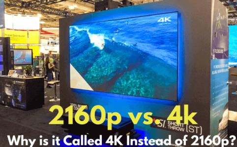 2160p vs 4k