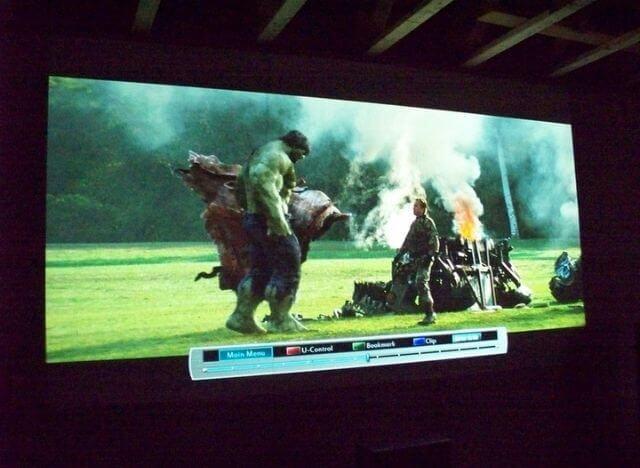 Projector Paint vs Screen
