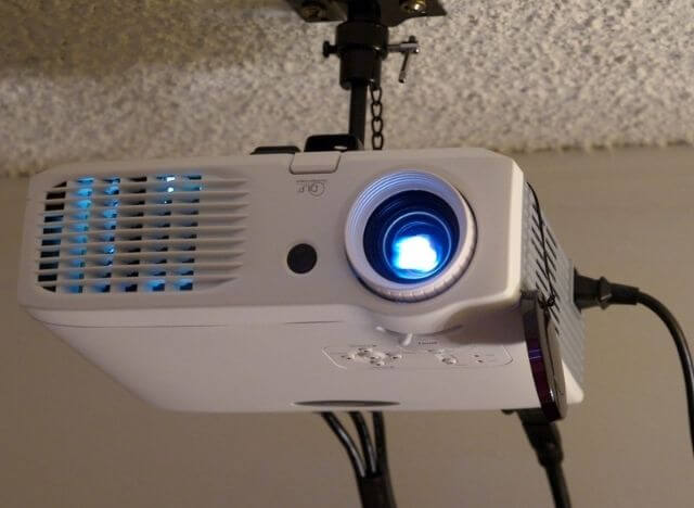 the Best Way to Mount Projector