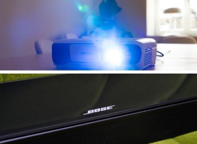 How to Connect Bose Soundbar to Projector