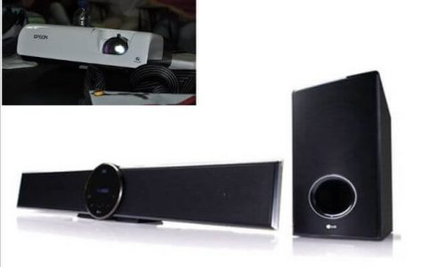 How to Connect LG Soundbar to Projector