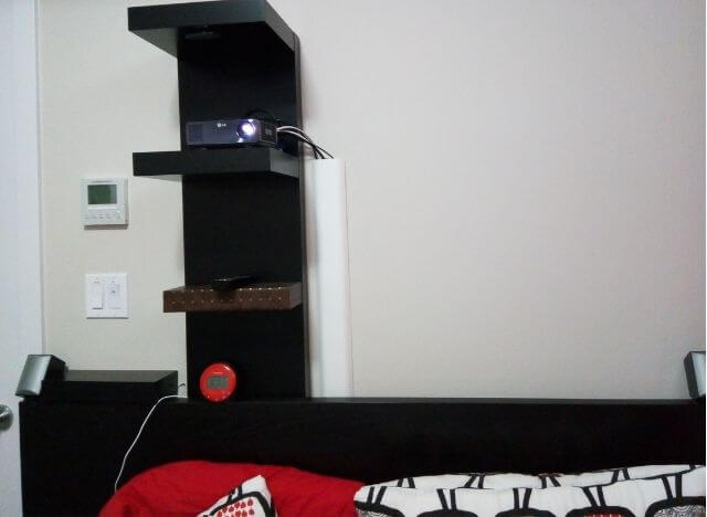 How to Mount a Projector without Drilling