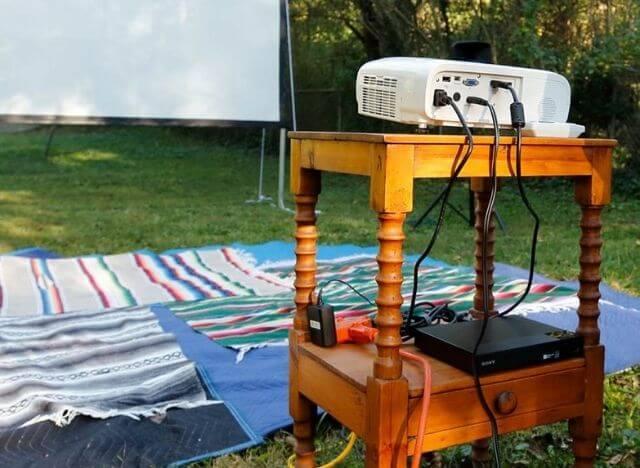 Tabletop projector