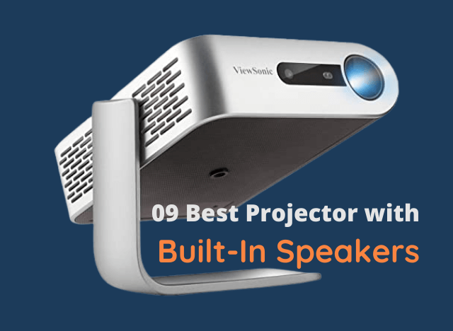 Best Projector with Built-In Speakers
